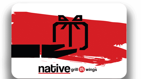 Gift Cards Native Grill And Wings