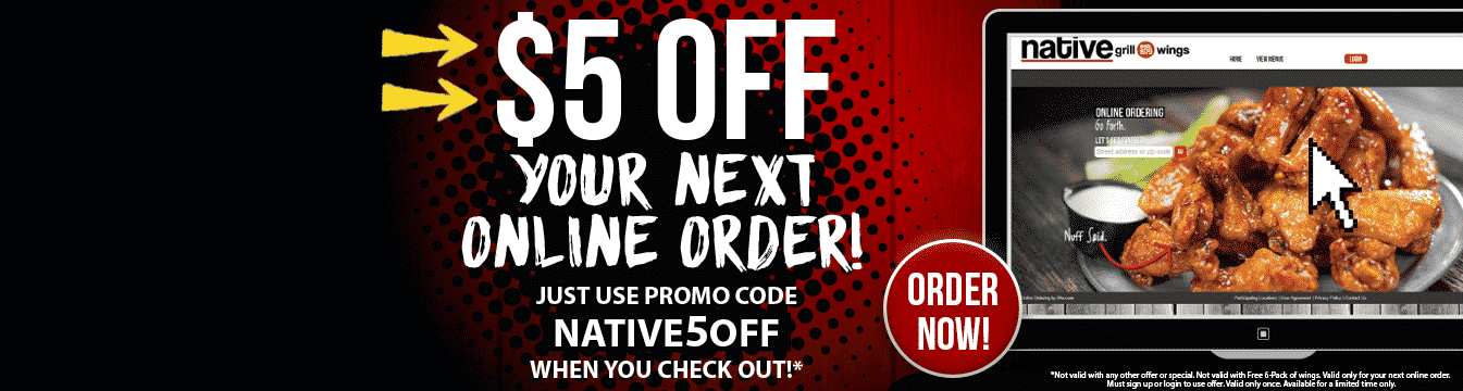 Native grill coupons