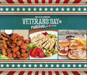 Veterans Day at Native Grill & Wings