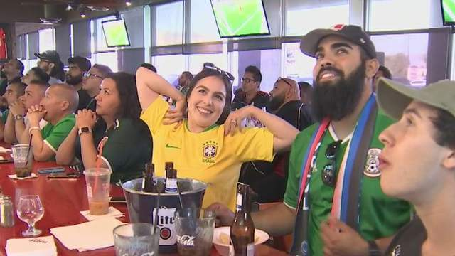 Soccer Fans at Native - Courtesy of Fox 10