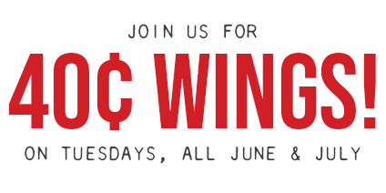 40 Cent Wings at Native Grill and Wings