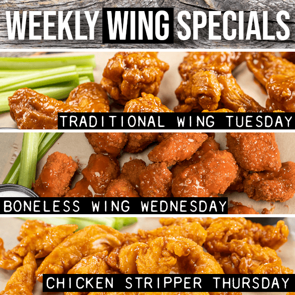 Weekly Wing Specials 1